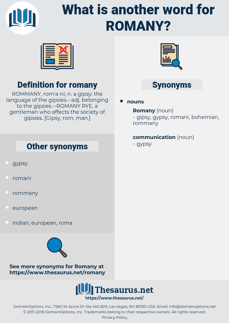 romany, synonym romany, another word for romany, words like romany, thesaurus romany
