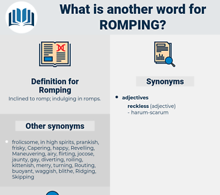 Romping, synonym Romping, another word for Romping, words like Romping, thesaurus Romping