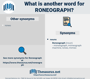 roneograph, synonym roneograph, another word for roneograph, words like roneograph, thesaurus roneograph