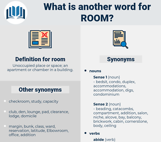 room, synonym room, another word for room, words like room, thesaurus room