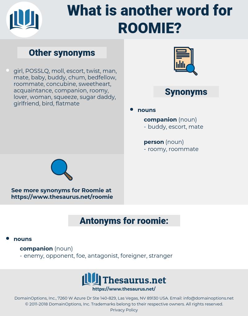 roomie, synonym roomie, another word for roomie, words like roomie, thesaurus roomie