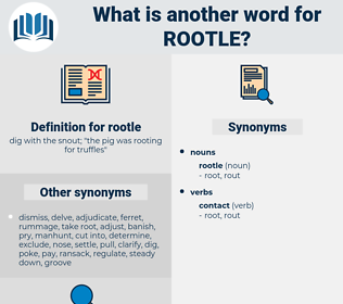 rootle, synonym rootle, another word for rootle, words like rootle, thesaurus rootle