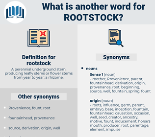 rootstock, synonym rootstock, another word for rootstock, words like rootstock, thesaurus rootstock