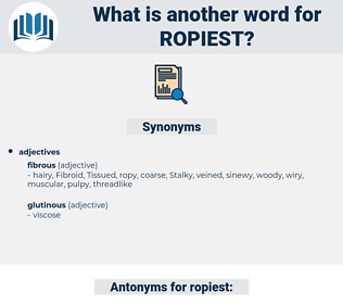 ropiest, synonym ropiest, another word for ropiest, words like ropiest, thesaurus ropiest