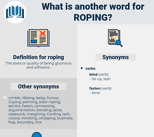 roping, synonym roping, another word for roping, words like roping, thesaurus roping