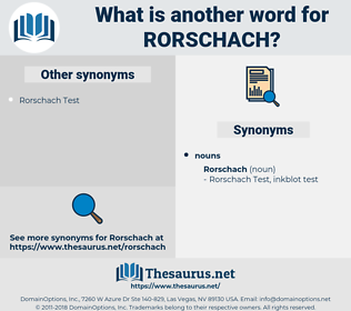 rorschach, synonym rorschach, another word for rorschach, words like rorschach, thesaurus rorschach