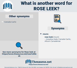 rose leek, synonym rose leek, another word for rose leek, words like rose leek, thesaurus rose leek