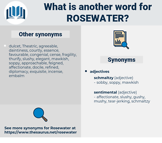 rosewater, synonym rosewater, another word for rosewater, words like rosewater, thesaurus rosewater