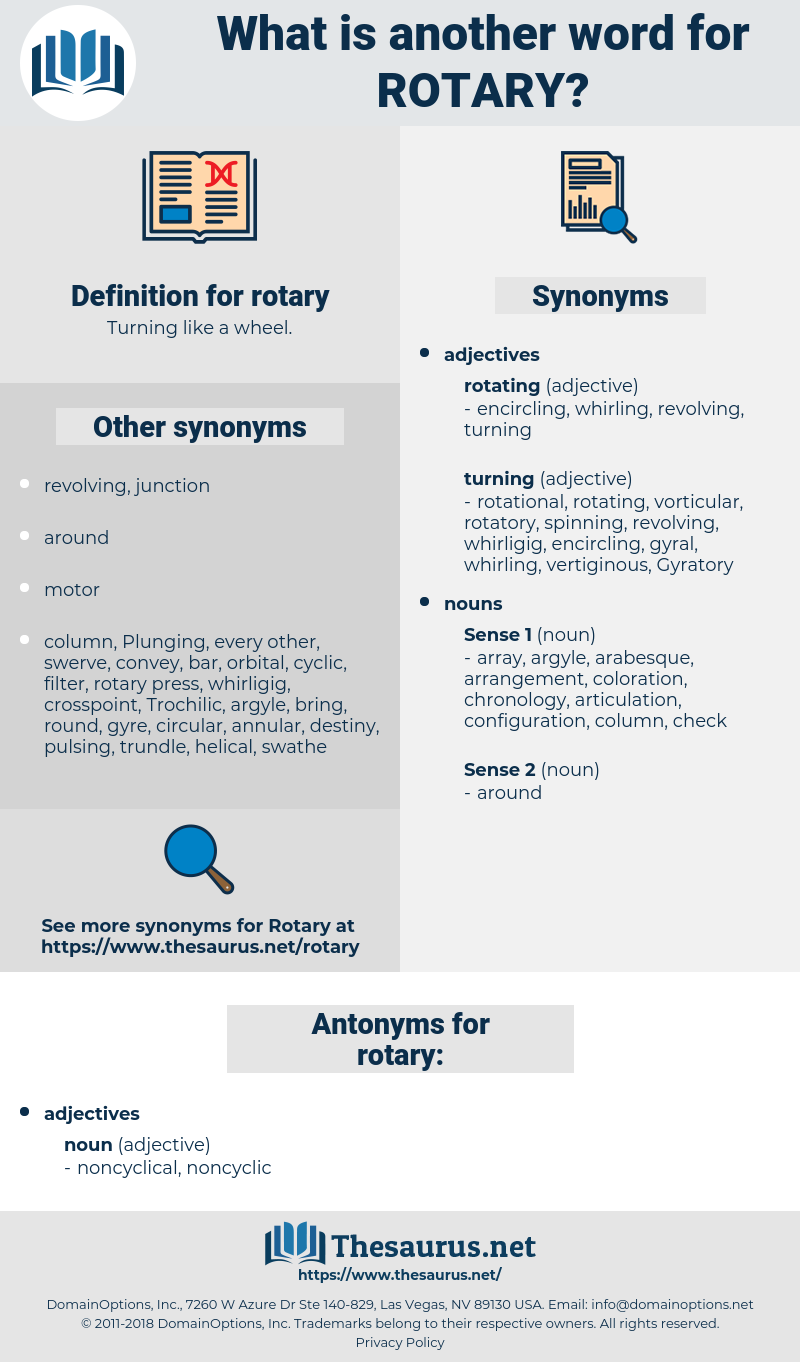 rotary, synonym rotary, another word for rotary, words like rotary, thesaurus rotary