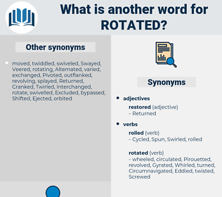 rotated, synonym rotated, another word for rotated, words like rotated, thesaurus rotated