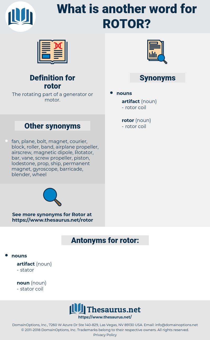 rotor, synonym rotor, another word for rotor, words like rotor, thesaurus rotor
