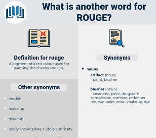 rouge, synonym rouge, another word for rouge, words like rouge, thesaurus rouge