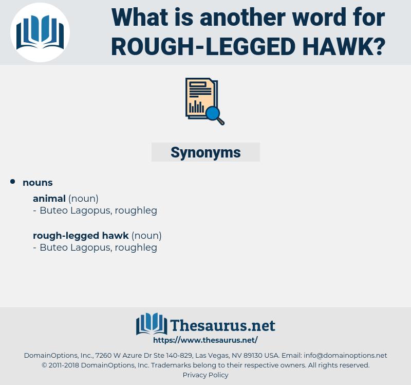 rough-legged hawk, synonym rough-legged hawk, another word for rough-legged hawk, words like rough-legged hawk, thesaurus rough-legged hawk