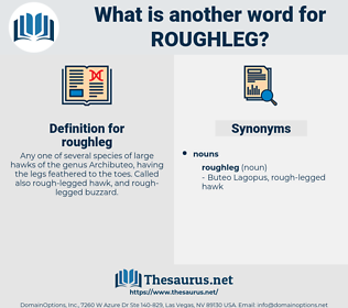 roughleg, synonym roughleg, another word for roughleg, words like roughleg, thesaurus roughleg