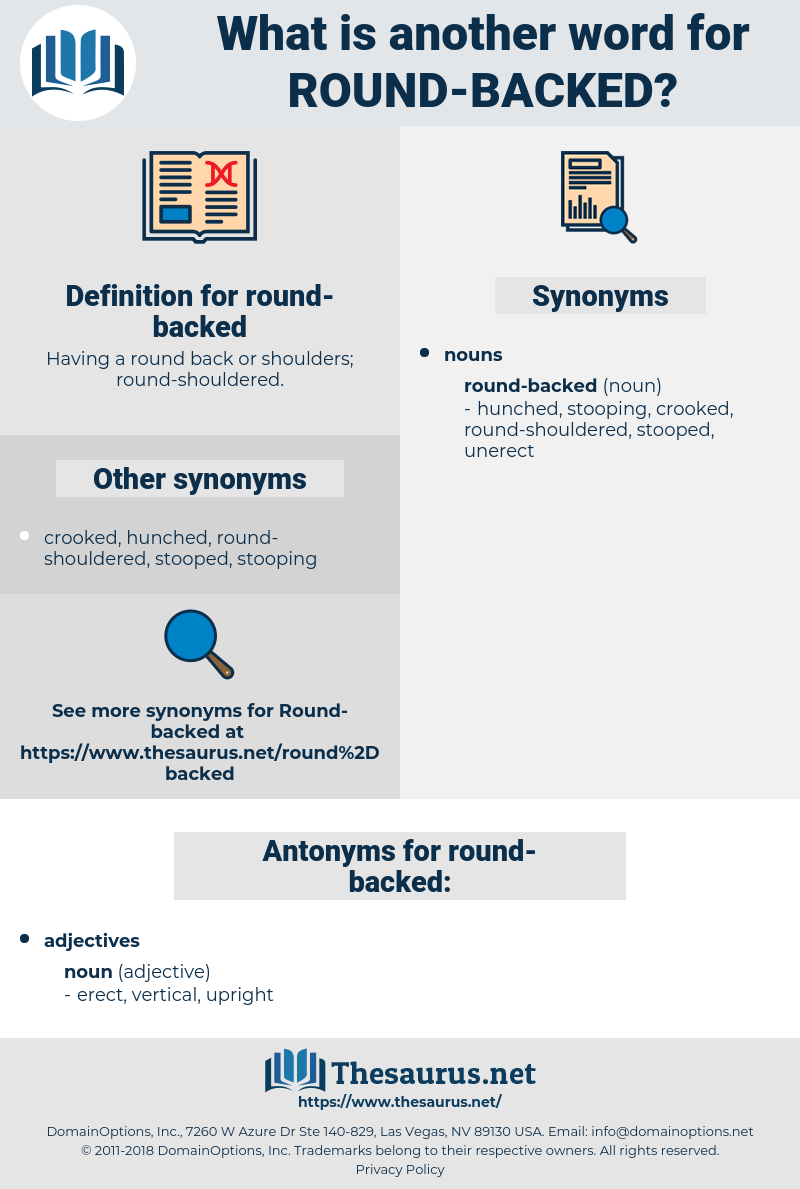 round-backed, synonym round-backed, another word for round-backed, words like round-backed, thesaurus round-backed