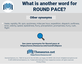 round pace, synonym round pace, another word for round pace, words like round pace, thesaurus round pace