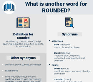 rounded, synonym rounded, another word for rounded, words like rounded, thesaurus rounded