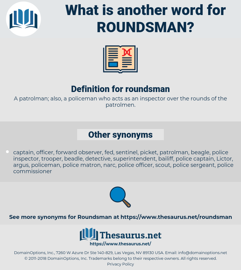 roundsman, synonym roundsman, another word for roundsman, words like roundsman, thesaurus roundsman