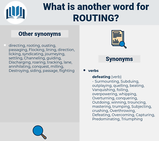Routing, synonym Routing, another word for Routing, words like Routing, thesaurus Routing