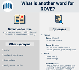 rove, synonym rove, another word for rove, words like rove, thesaurus rove