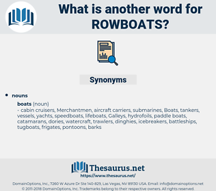 rowboats, synonym rowboats, another word for rowboats, words like rowboats, thesaurus rowboats