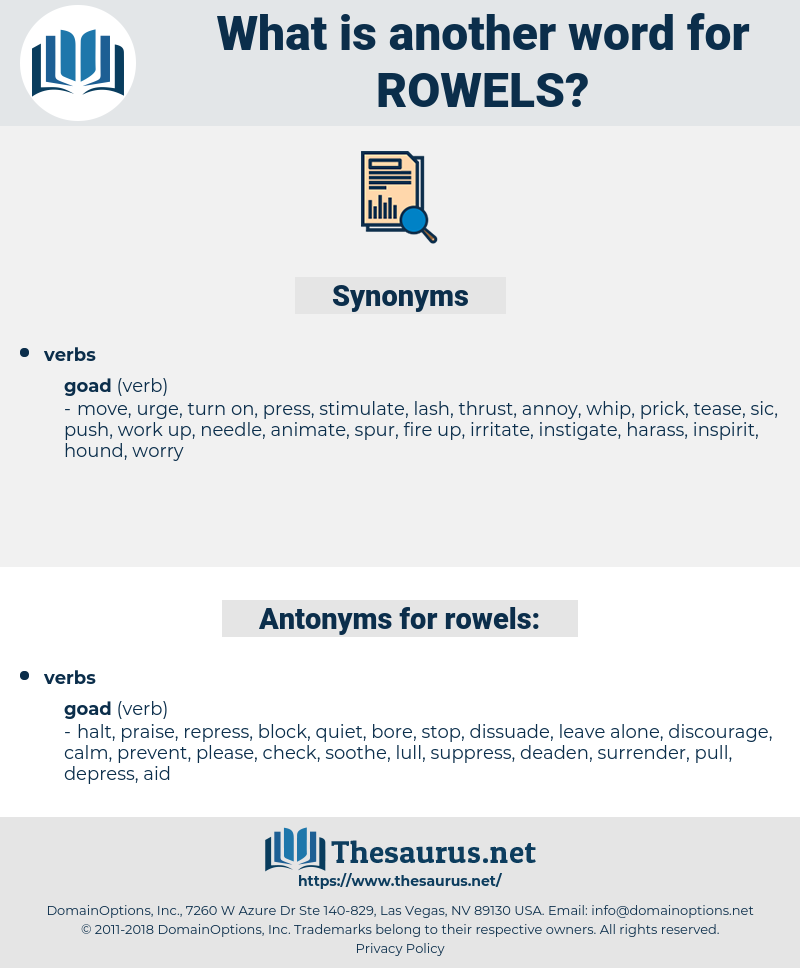rowels, synonym rowels, another word for rowels, words like rowels, thesaurus rowels