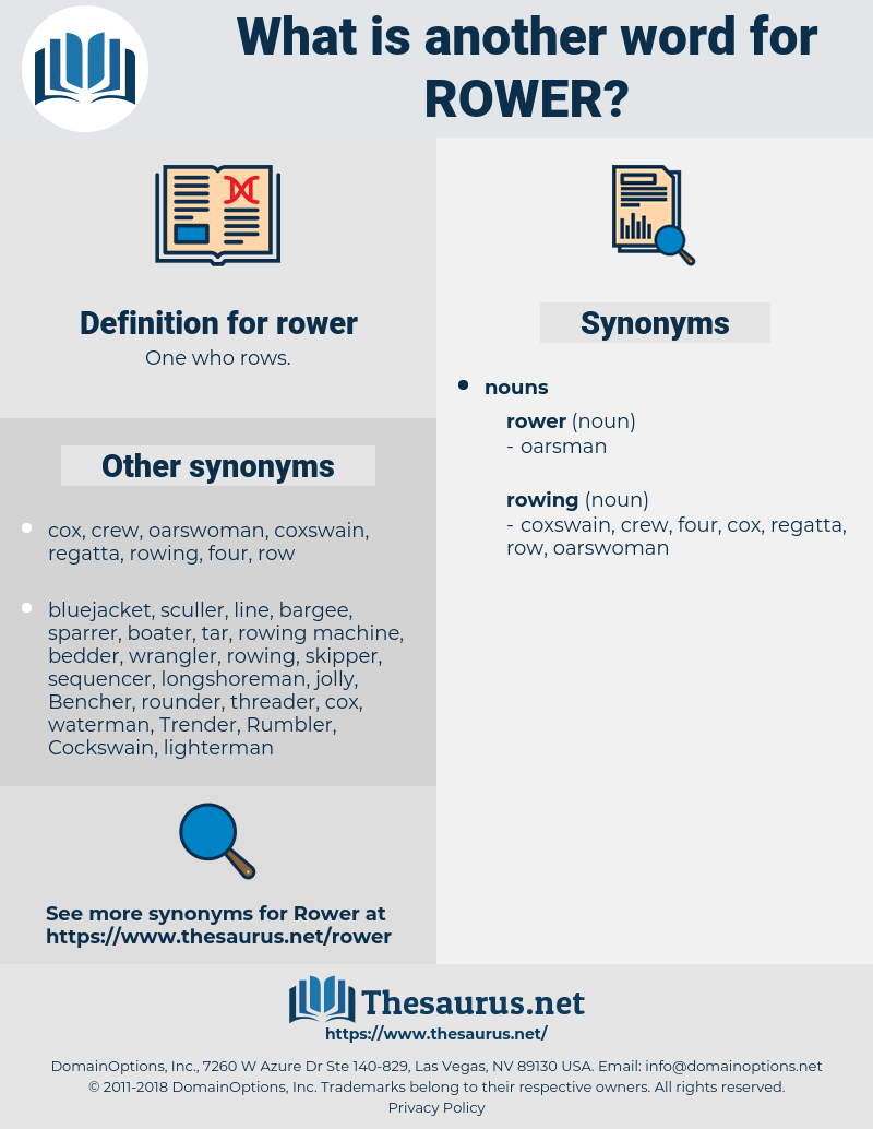 rower, synonym rower, another word for rower, words like rower, thesaurus rower