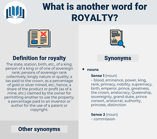 royalty, synonym royalty, another word for royalty, words like royalty, thesaurus royalty