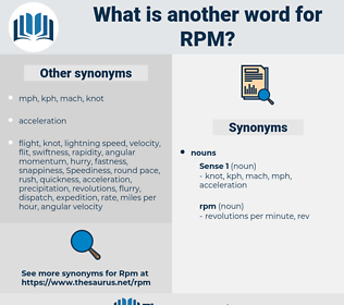 rpm, synonym rpm, another word for rpm, words like rpm, thesaurus rpm