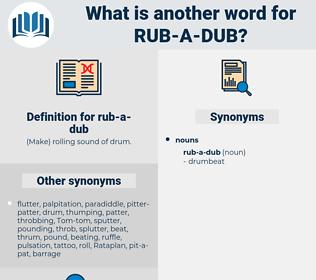 rub-a-dub, synonym rub-a-dub, another word for rub-a-dub, words like rub-a-dub, thesaurus rub-a-dub