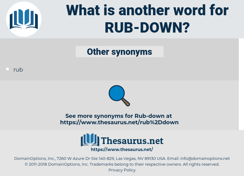 rub down, synonym rub down, another word for rub down, words like rub down, thesaurus rub down