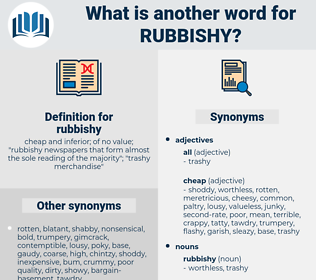 rubbishy, synonym rubbishy, another word for rubbishy, words like rubbishy, thesaurus rubbishy