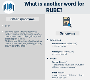 rube, synonym rube, another word for rube, words like rube, thesaurus rube