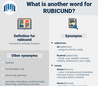 rubicund, synonym rubicund, another word for rubicund, words like rubicund, thesaurus rubicund