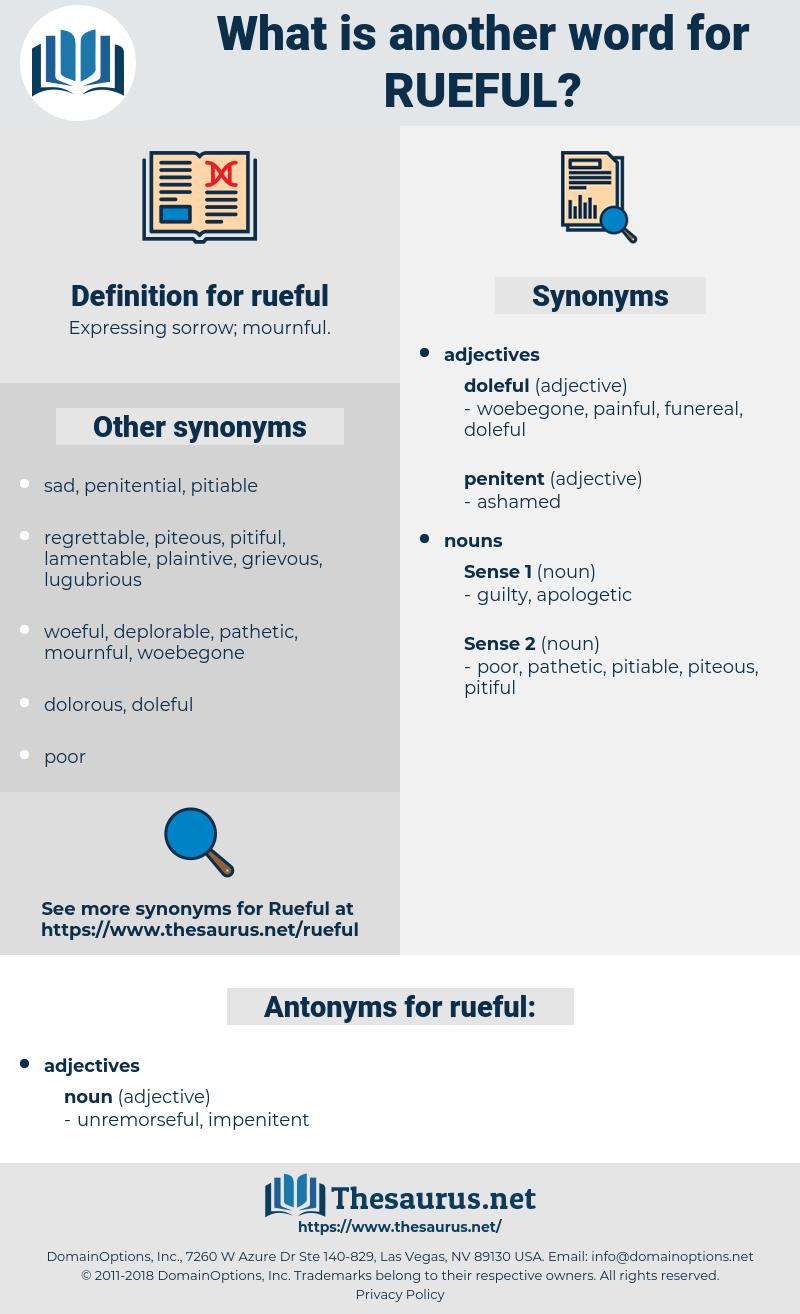 rueful, synonym rueful, another word for rueful, words like rueful, thesaurus rueful