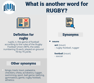 rugby, synonym rugby, another word for rugby, words like rugby, thesaurus rugby