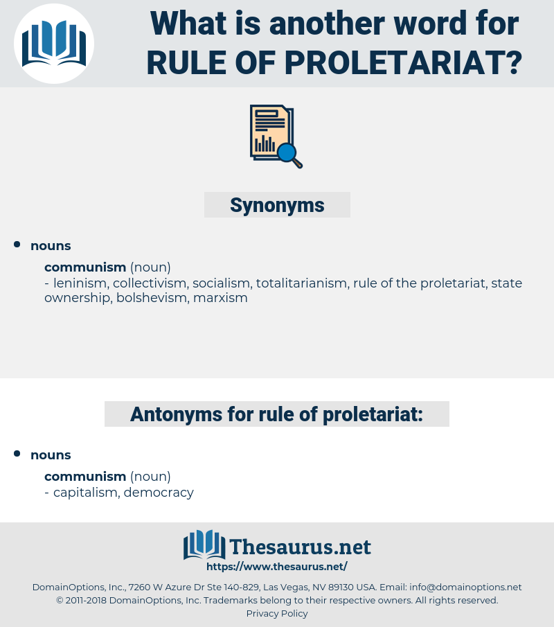 rule of proletariat, synonym rule of proletariat, another word for rule of proletariat, words like rule of proletariat, thesaurus rule of proletariat