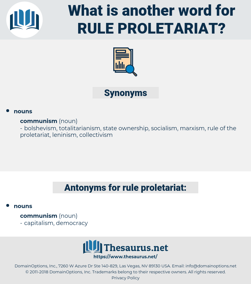 rule proletariat, synonym rule proletariat, another word for rule proletariat, words like rule proletariat, thesaurus rule proletariat