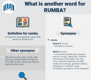 rumba, synonym rumba, another word for rumba, words like rumba, thesaurus rumba