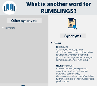 rumblings, synonym rumblings, another word for rumblings, words like rumblings, thesaurus rumblings