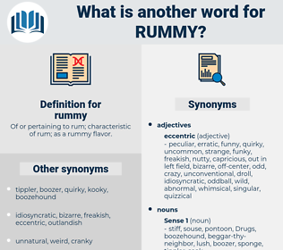 rummy, synonym rummy, another word for rummy, words like rummy, thesaurus rummy
