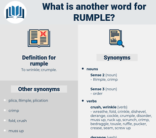 rumple, synonym rumple, another word for rumple, words like rumple, thesaurus rumple