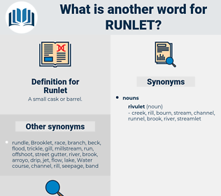 Runlet, synonym Runlet, another word for Runlet, words like Runlet, thesaurus Runlet