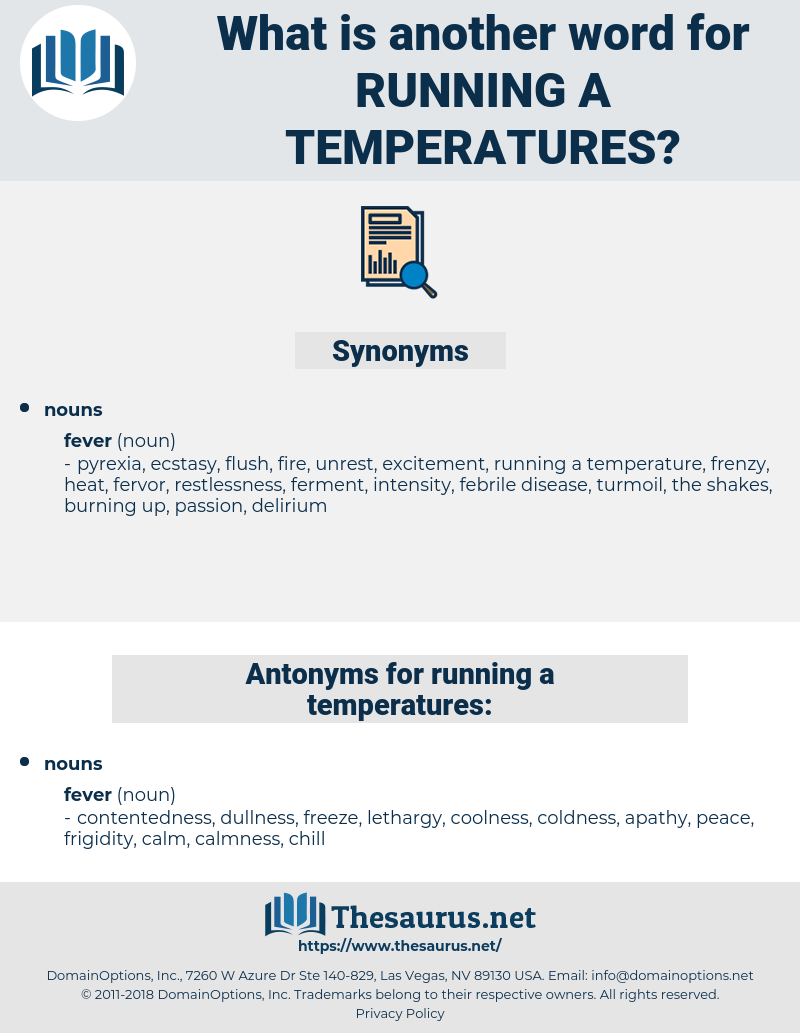 running a temperatures, synonym running a temperatures, another word for running a temperatures, words like running a temperatures, thesaurus running a temperatures