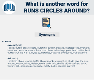 runs circles around, synonym runs circles around, another word for runs circles around, words like runs circles around, thesaurus runs circles around