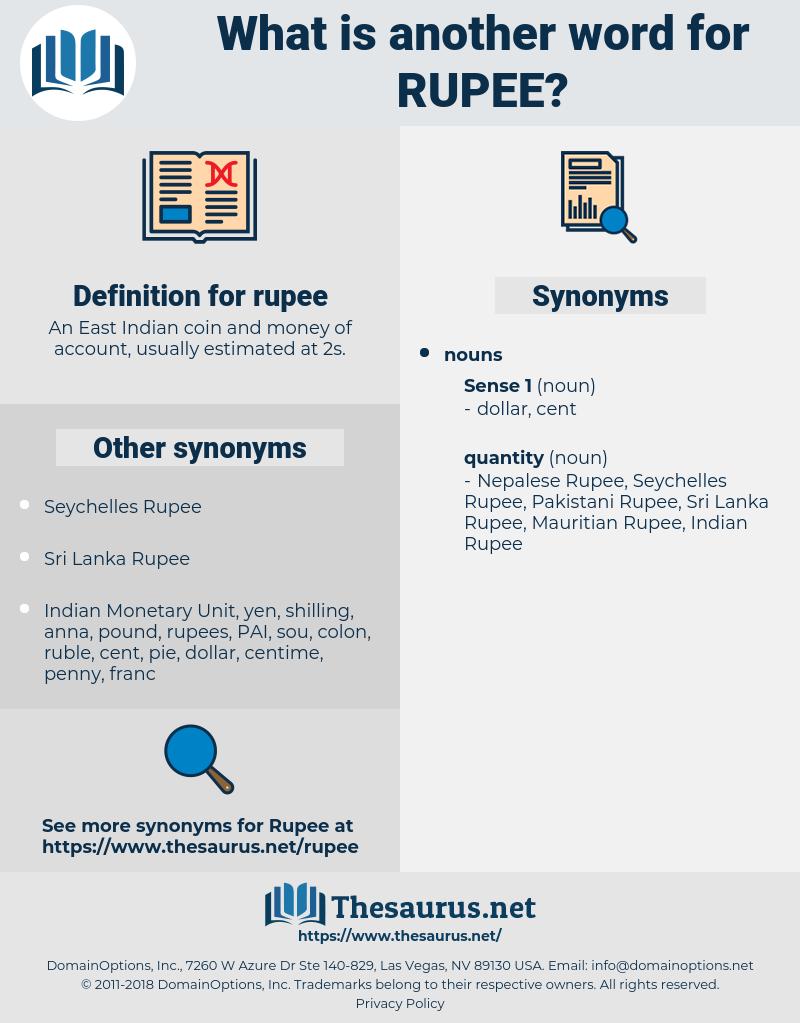 rupee, synonym rupee, another word for rupee, words like rupee, thesaurus rupee