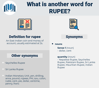 rupee, synonym rupee, another word for rupee, words like rupee, thesaurus rupee