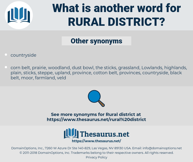 rural district, synonym rural district, another word for rural district, words like rural district, thesaurus rural district