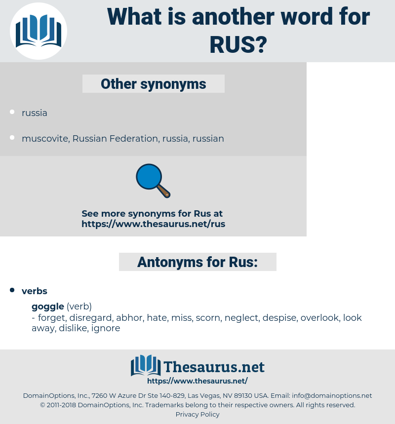 Rus, synonym Rus, another word for Rus, words like Rus, thesaurus Rus
