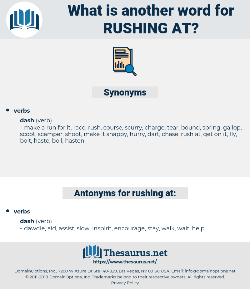 rushing at, synonym rushing at, another word for rushing at, words like rushing at, thesaurus rushing at